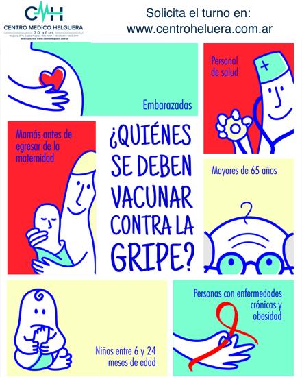 Quienes deben vacunarse contra la grupe