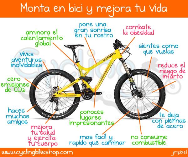 19 de a bril dia mundial del uso de la bici - Beneficios de la bici eliptica ...