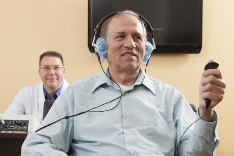 Estudio médico audiometria