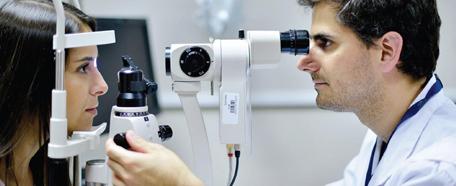 consulta en oftalmologia