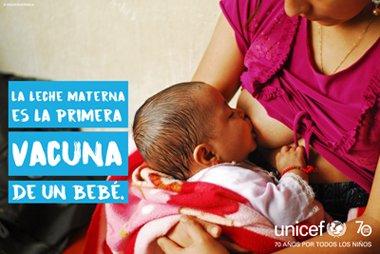 1 al 7 de agosto: semana de la lactancia materna