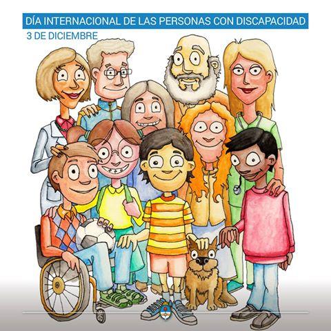 3 de diciembre: DÍA INTERNACIONAL DE LAS PERSONAS CON DISCAPACIDAD